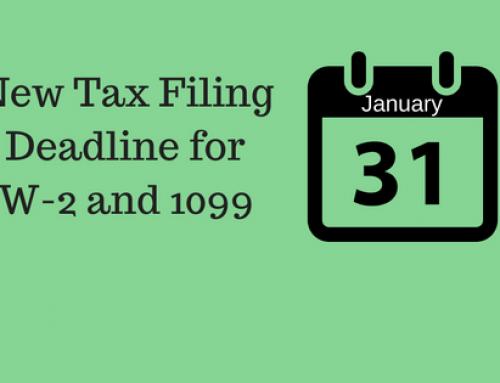 New 1099 Tax Filing Deadline